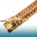 Thermometer im Wasser