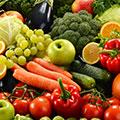 Täglich Obst und Gemüse