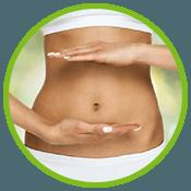 Frauen Bauch