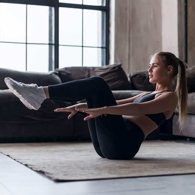 5 einfache Übungen für Zuhause