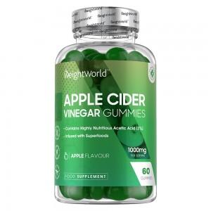 Apfelessig Gummibärchen | Natürliches Nahrungsergänzungsmittel zum Gewichtsmanagement