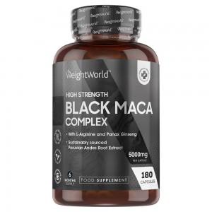 Schwarzer Maca Komplex | Natürliche energetisierende Nahrungsergänzung