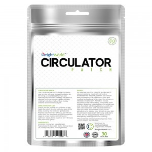 WeightWorld Circulator Patch 20 Pflaster