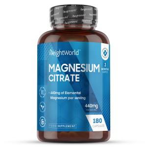 Magnesium Citrate | Natürliche Nahrungsergänzung für das Wohlbefinden