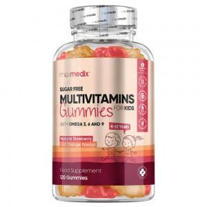 Multivitamin Gummibärchen für Kinder | Natürliche Ergänzung für das Wohlbefinden von Kindern