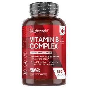 Vitamin B Komplex | Natürliche Nahrungsergänzung zur Pflege des Körpers