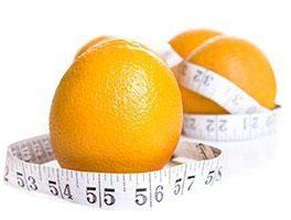Orangenhaut hängt nicht immer vom Gewicht ab