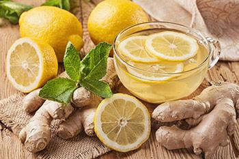 Teetasse Zitrone & Ingwer