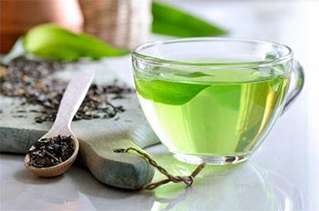 Teetasse Grüner Tee