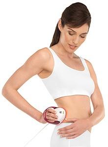 Frau mit Cellulitebehandlung